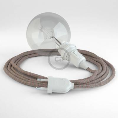 Configura il tuo Snake per paralume Losanga Rosa Antico RD61 e porta la luce dove vuoi tu.