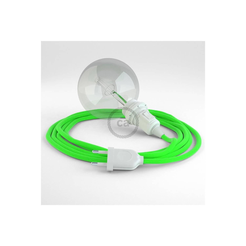 Configura il tuo Snake per paralume Verde Fluo RF06 e porta la luce dove vuoi tu.