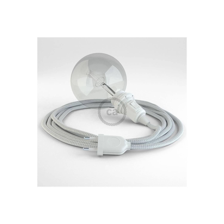 Configura il tuo Snake per paralume Effetto Seta Argento RM02 e porta la luce dove vuoi tu.
