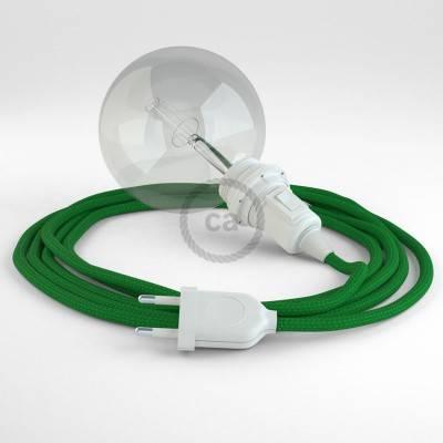Configura il tuo Snake per paralume Effetto Seta Verde RM06 e porta la luce dove vuoi tu.