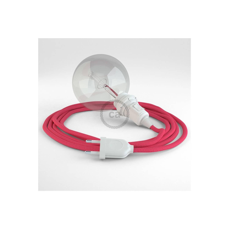 Configura il tuo Snake per paralume Effetto Seta Fucsia RM08 e porta la luce dove vuoi tu.