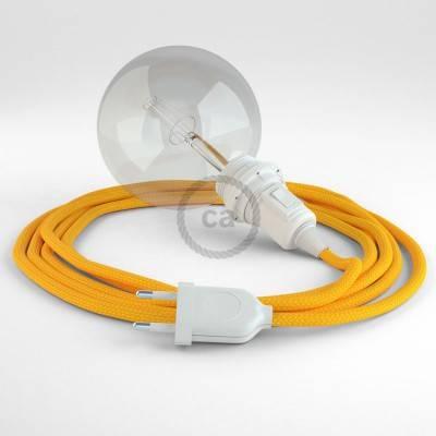 Configura il tuo Snake per paralume Effetto Seta Giallo RM10 e porta la luce dove vuoi tu.
