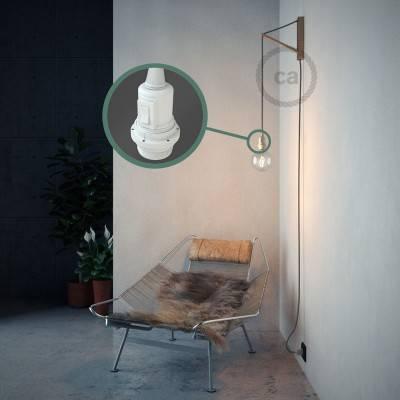 Configura il tuo Snake per paralume Lino Naturale Grigio RN02 e porta la luce dove vuoi tu.