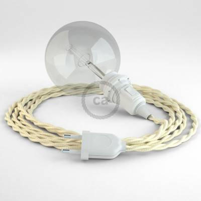 Configura il tuo Snake per paralume Effetto Seta Avorio TM00 e porta la luce dove vuoi tu.