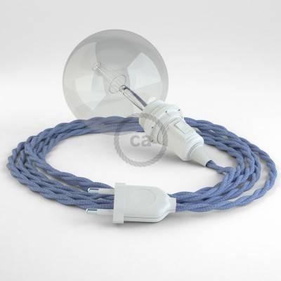 Configura il tuo Snake per paralume Effetto Seta Lilla TM07 e porta la luce dove vuoi tu.