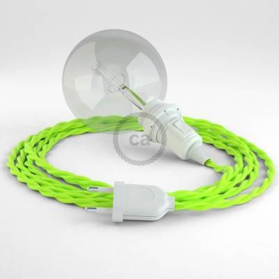 Configura il tuo Snake per paralume Effetto Seta Giallo Fluo TF10 e porta la luce dove vuoi tu.