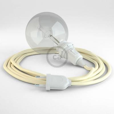 Configura il tuo Snake per paralume Effetto Seta Avorio RM00 e porta la luce dove vuoi tu.