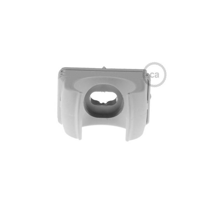 Clip fissatubo in plastica, diametro 16 mm, per Creative-Tube
