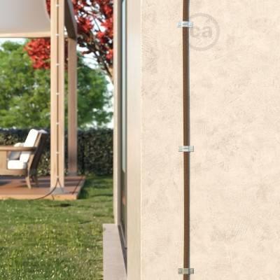 Accessori per fissaggio a parete Sistema Catenarie Lumet - 10 pz