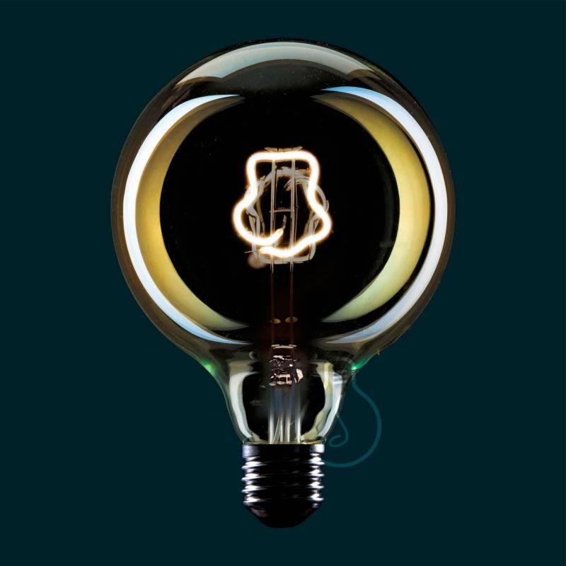 Lampadina LED Globo G125 linea Masterchef filamento Toque Blanche 4W E27 Dimmerabile 2000K