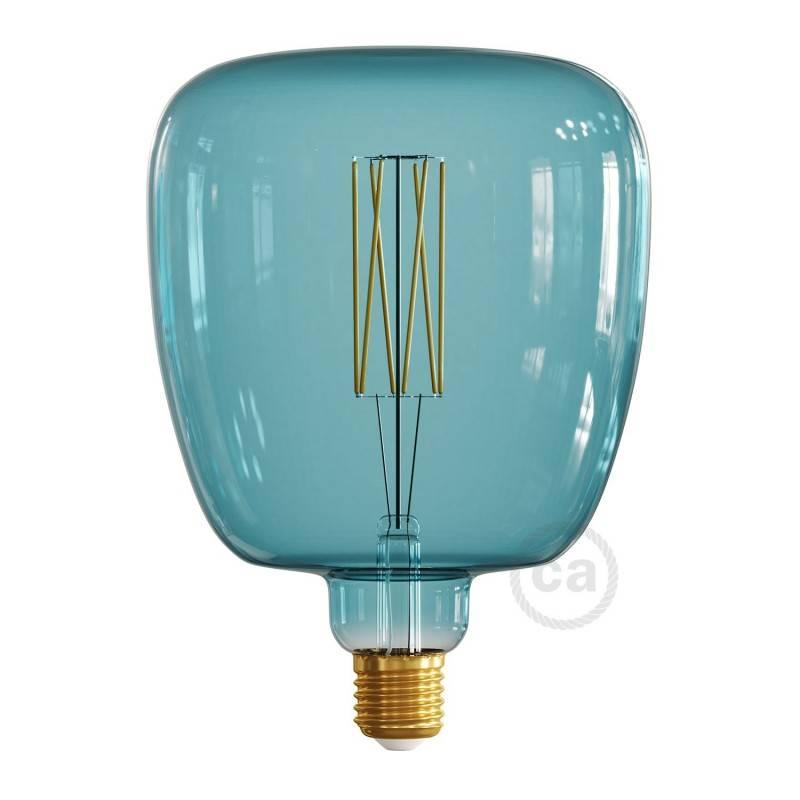 Lampadina LED XXL Bona linea Pastel Ocean Blue filamento Dritto 4W E27 Dimmerabile 2200K