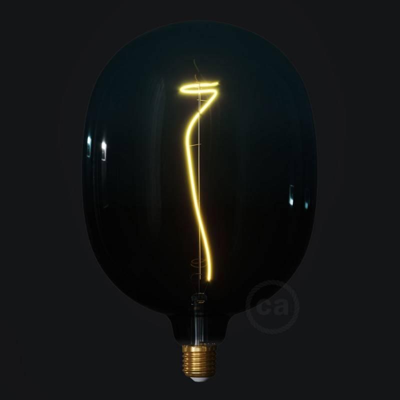 Lampadina LED Egg linea Pastel Dusk filamento Vite 4W E27 Dimmerabile 2200K