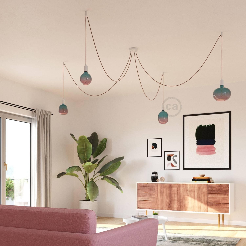Lampadina LED XXL Cobble linea Pastel Dream filamento Spirale 4W E27 Dimmerabile 2200K
