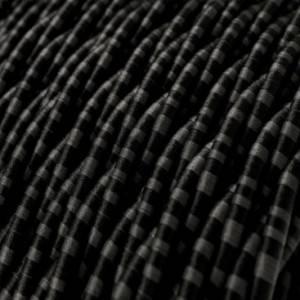 Cavo Elettrico trecciato rivestito in tessuto effetto Seta Romanov TG06