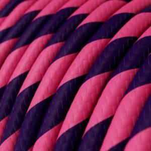 Cavo Elettrico rotondo Vertigo HD rivestito in tessuto Cheshire ERM41