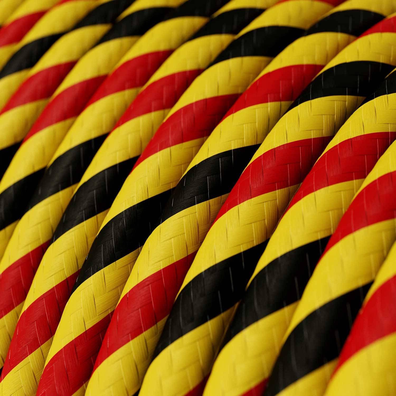 Cavo Elettrico rotondo Vertigo HD rivestito in tessuto Bruxelles ERM59