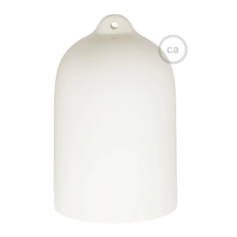 Campana, paralume XL in ceramica per sospensione - Made in Italy