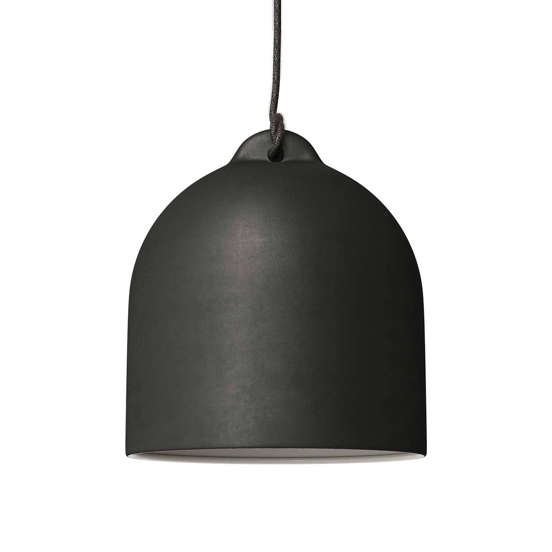 Campana, paralume M in ceramica per sospensione - Made in Italy