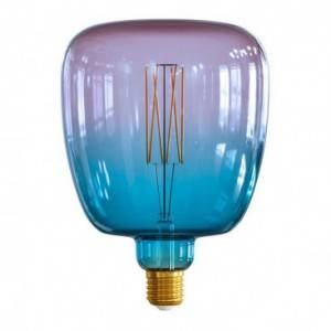 """LIMITED EDITION - Lampadina LED XXL Bona linea Pastel """"Sbagliate"""" Dream filamento Dritto 4W E27 Dimmerabile 2200K"""