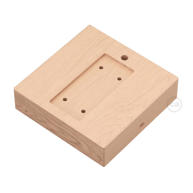 Supporto Quadrato Per Archet To In Legno