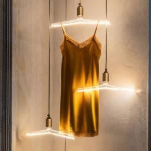Lampadina LED Trasparente Filamento artistico Gruccia 4W E27 Dimmerabile 3000K