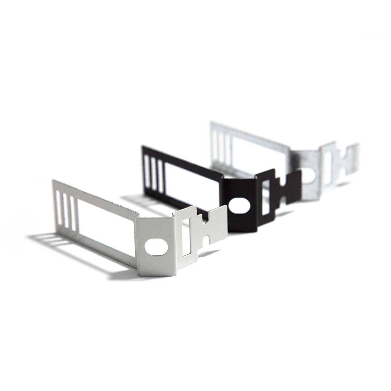 Clip fascetta fissatubo in metallo bianco per Creative-Tube