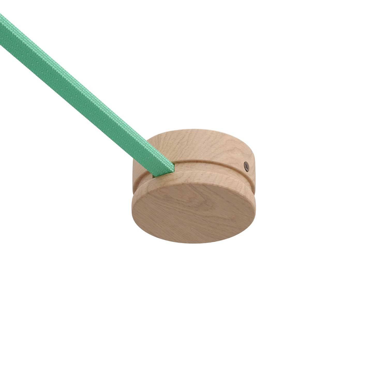 Rosone in legno per cavo per catenaria e sistema Filé. Made in Italy