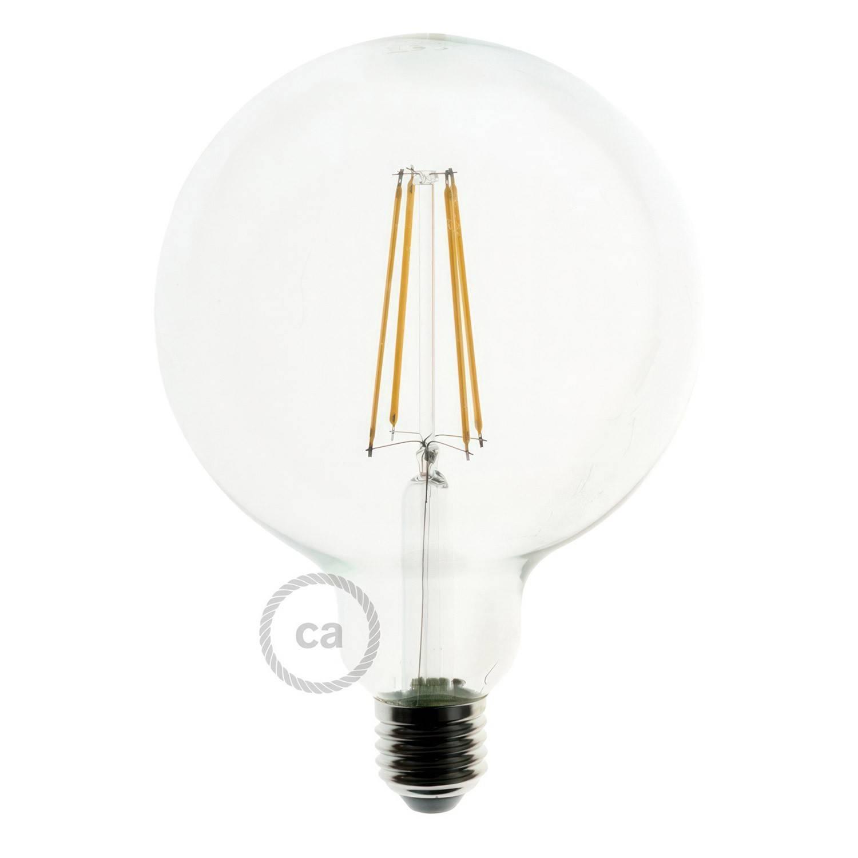 Lampada a sospensione Made in Italy completa di cordone nautico XL e portalampada in corteccia Large
