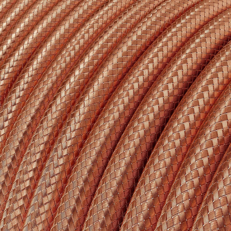 Spostaluce, il punto luce in metallo completo di portalampada E27 filettato, cavo tessile e fori laterali