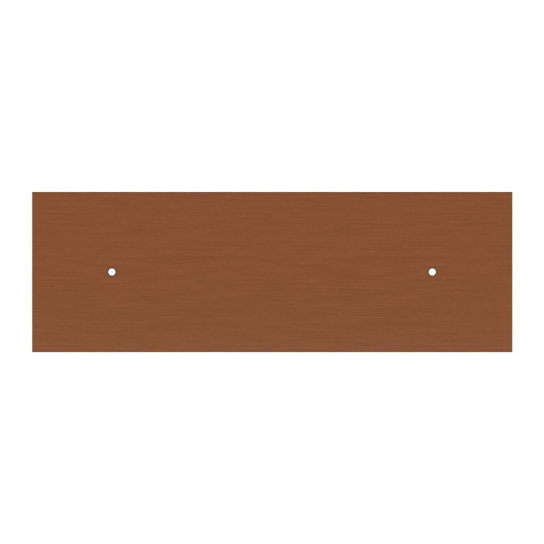 Lampada a sospensione a 2 cadute con XXL Rose-One rettangolare 675 mm completa di cavo tessile e paralume Coppa