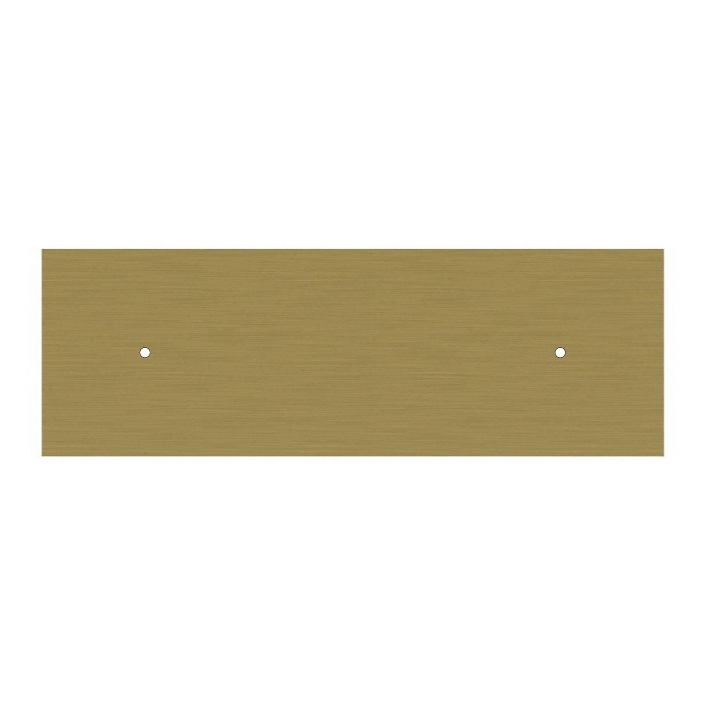 Lampada a sospensione a 2 cadute con XXL Rose-One rettangolare 675 mm completa di cavo tessile e paralume Cupola M