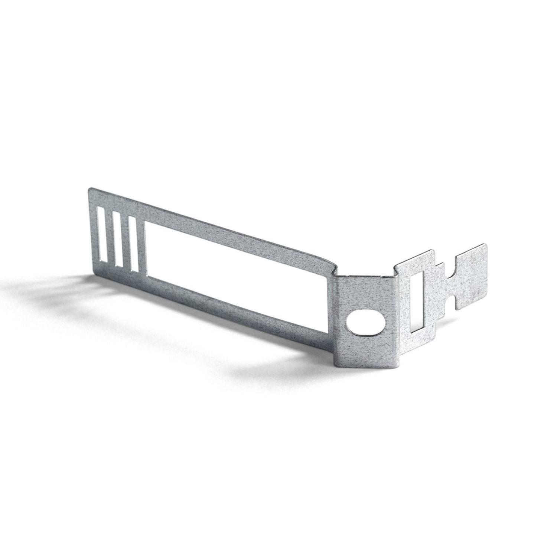 Clip fascetta passacavo in metallo per cordone 24 mm diametro