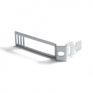 Clip fascetta passacavo in metallo per cordone 24 mm diametro