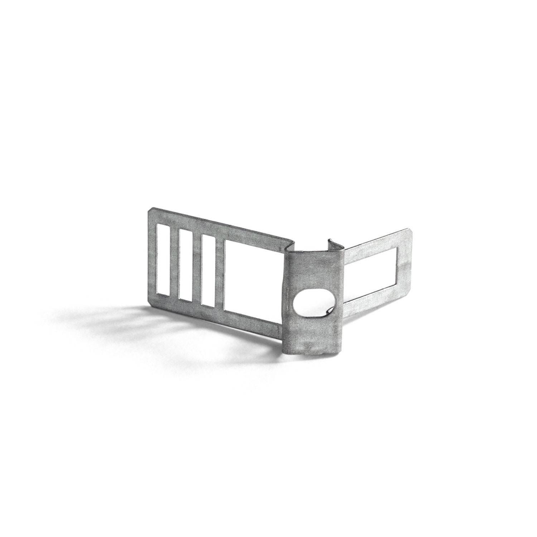 Clip fascetta passacavo in metallo per cordone 16 mm diametro