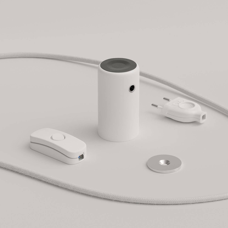 Magnetico®-Plug Elegant, portalampada magnetico pronto all'uso