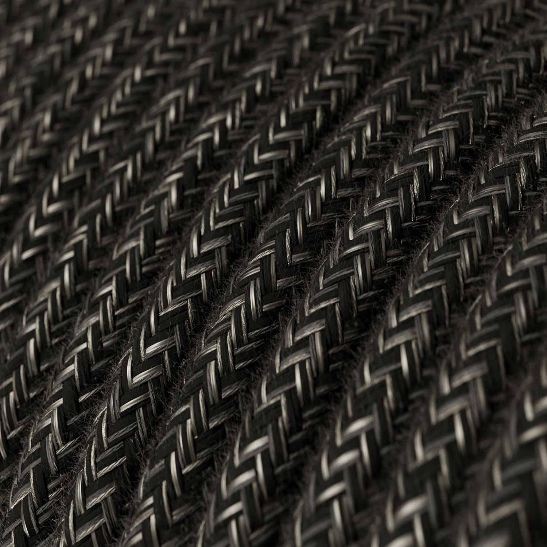 Lampada a sospensione Made in Italy completa di cavo tessile e paralume Mini Campana XS in ceramica