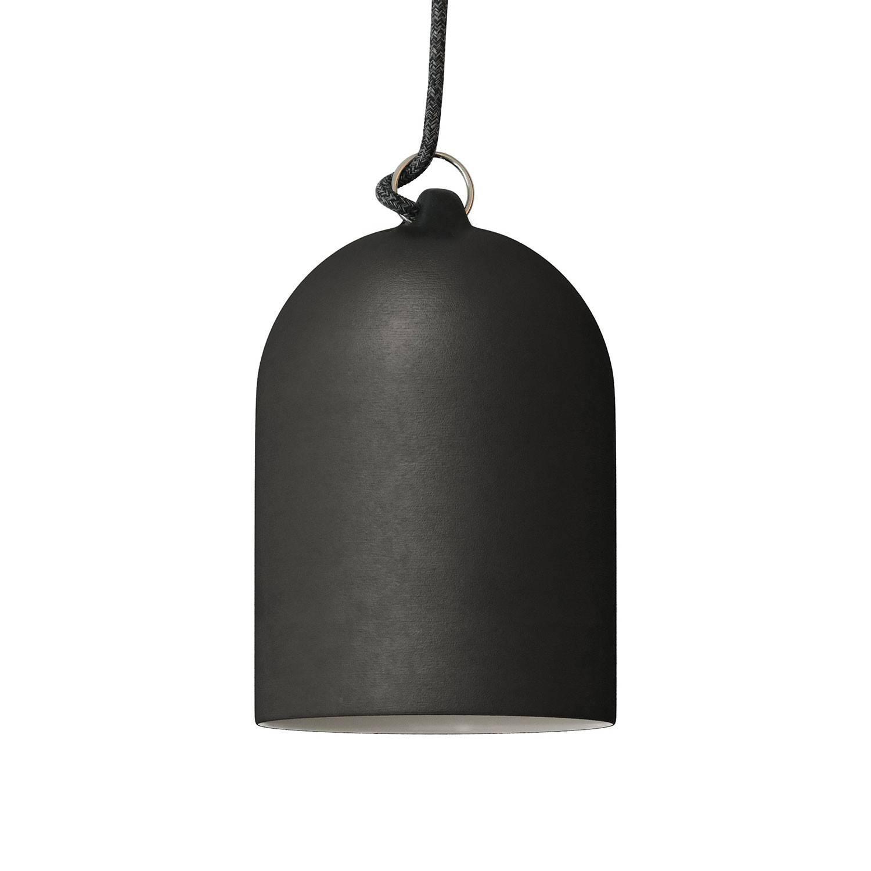 Campana Mini, paralume XS in ceramica per sospensione - Made in Italy