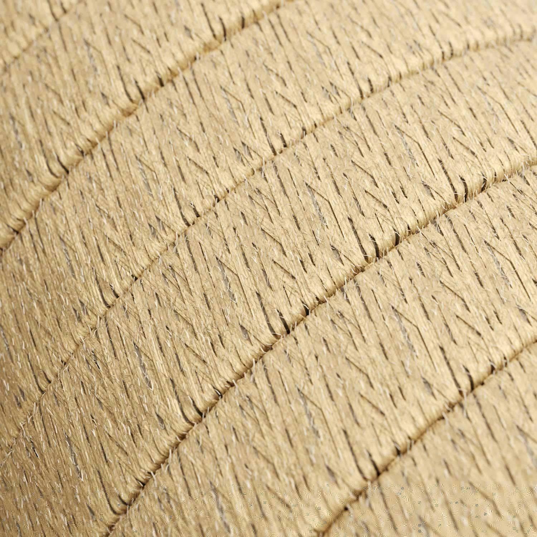 Catenaria Sistema Lumet pronta all'uso da 7,5 m con cavo tessile, 5 portalampada, gancio e spina bianchi