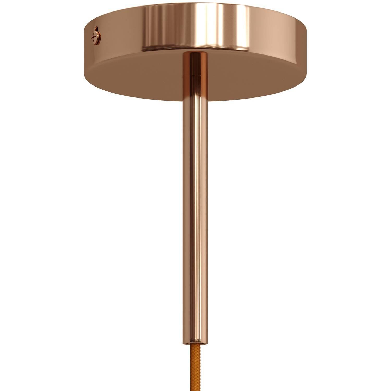 Serracavo cilindrico in metallo lunghezza 15 cm completo di tige, dado e rondella