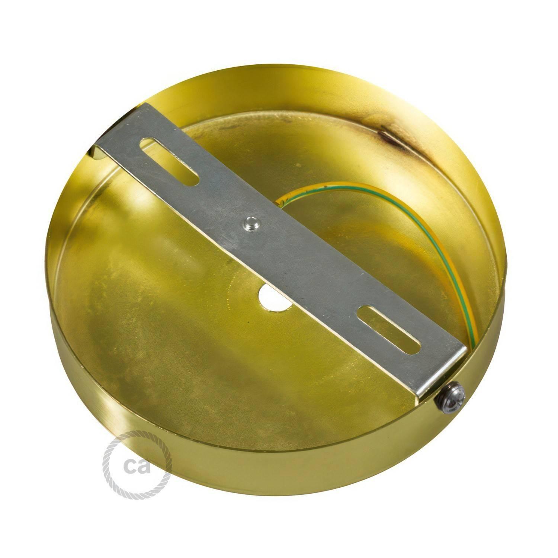 Kit rosone cilindrico in metallo