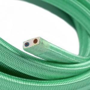 Cavo elettrico per Catenaria rivestito in tessuto Effetto Seta Opale CH69