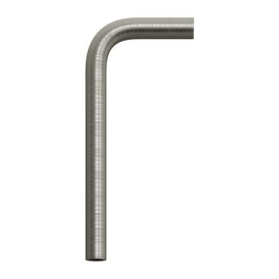 Tubo curvo di estensione 14 cm in metallo