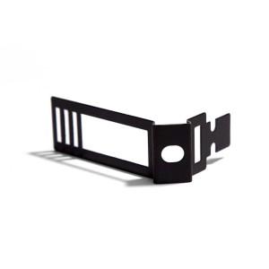 Clip fascetta fissatubo in metallo nero per Creative-Tube