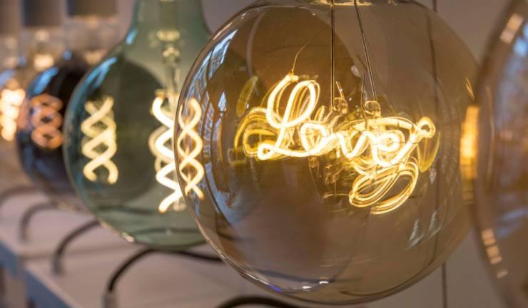 Une gamme unique d'ampoules