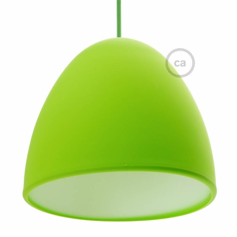 Paralume silicone verde lime