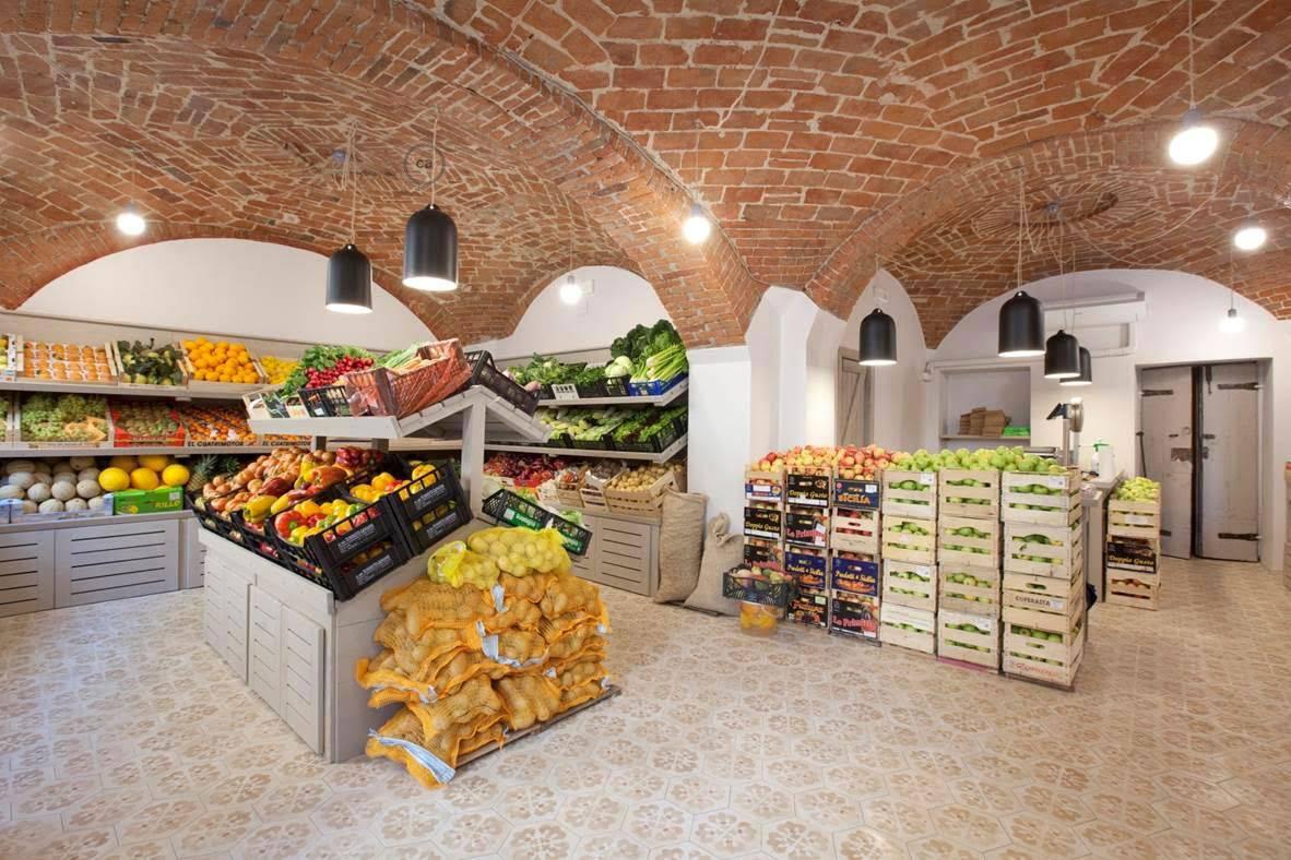 arch. pinuccio marchelli: progetto per un negozio di frutta e ... - Idee Arredamento Negozio Frutta E Verdura