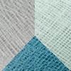 Poliestere Azzurro - Denim - Grigio perla