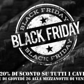 Black Friday: 20% di sconto su tutti i cavi!