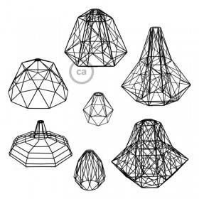 Le nuove gabbie paralume di Creative-Cables: forme e dimensioni senza precedenti!