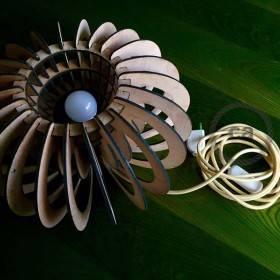 Be Creative - Le lampade in legno di Alessandra Botto